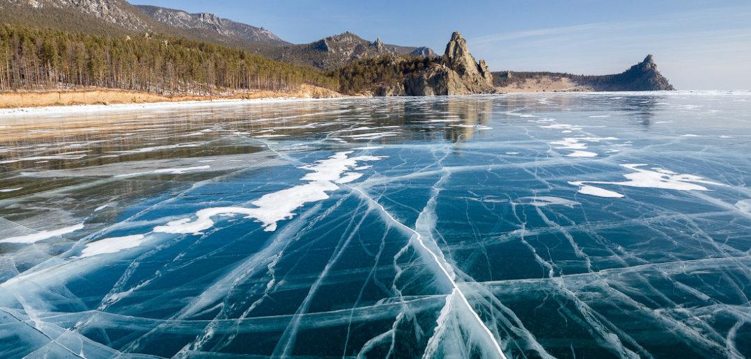 Baikal. Wonder of the world.